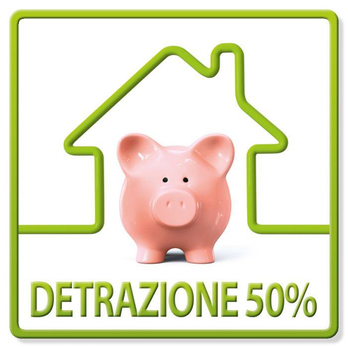 DETRAZIONE IRPEF 50% 2018